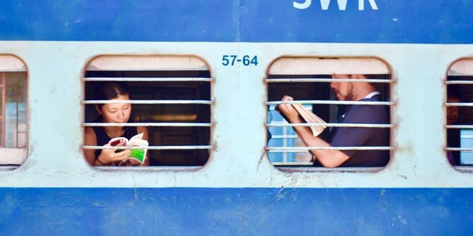 Webshop met boeken voor de reiziger